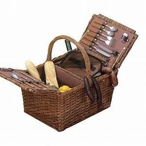 Schlafsofa Für 2 Personen : picknickkorb mit k hlfach und geschirr f r 4 personen geschenkidee f r frischverliebte und ~ Indierocktalk.com Haus und Dekorationen