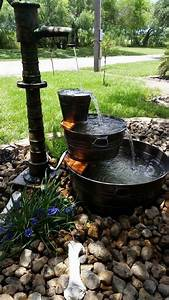 Creative, Pond, And, Fountain, Ideas, 1, U2013, Gardenmagz, Com
