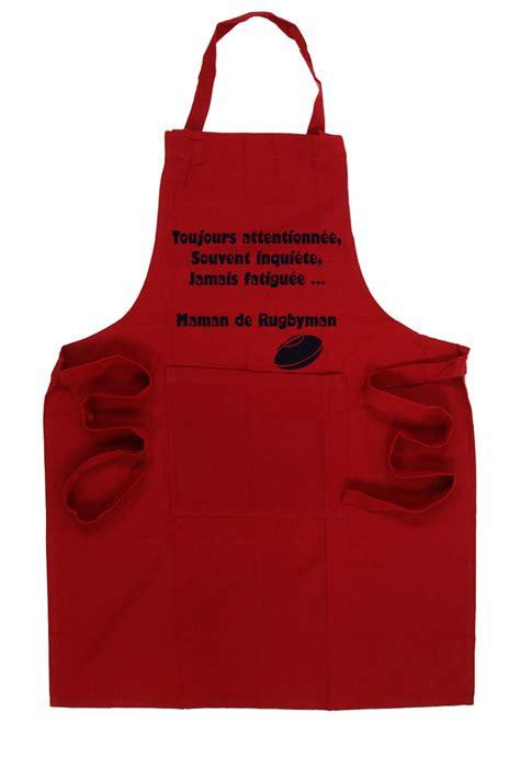 tablier de cuisine homme personnalisé tablier de cuisine rugby esprit rugby