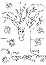 Coloring Tree Sonbahar Coloriage Boyama Arbre Okul Autumn Automne Oncesi Apple Printable Fall Preschoolers Spring Coloriages Colorear Feuilles Trees Imprimer sketch template