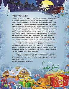 personalized letter package from santa giveaway aimless With personalized letter from santa claus from rudolph express
