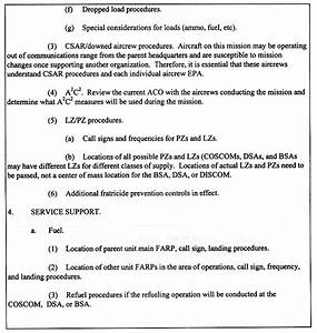 fm 1 113 appendix h With army briefing template