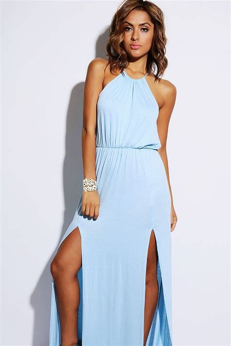 light blue dress light blue dress maxi dress on