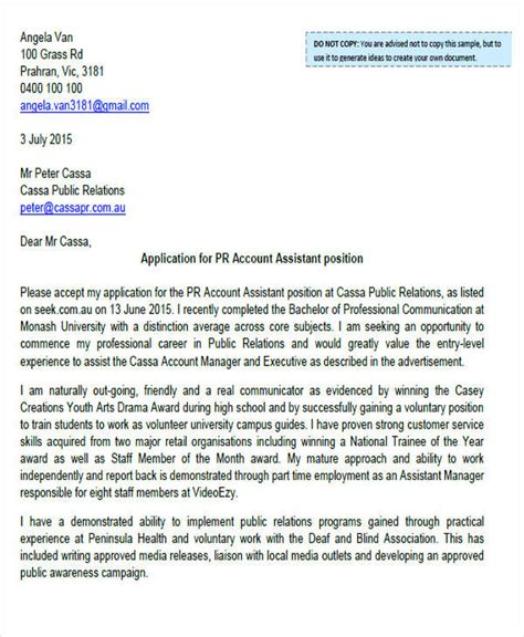 Entry Level Marketing Manager Cover Letter by Account Manager Cover Letter 8 Exles In Word Pdf