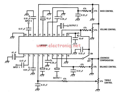 Volume Controller Equalizer Circuit Diagram World