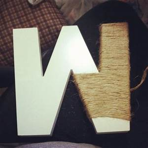 jute wrapped letter weddingbee photo gallery With jute letters