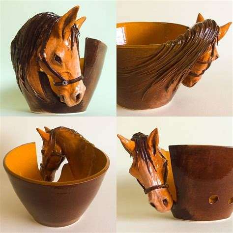 horse yarn bowl    bowl  hit  etsy shop