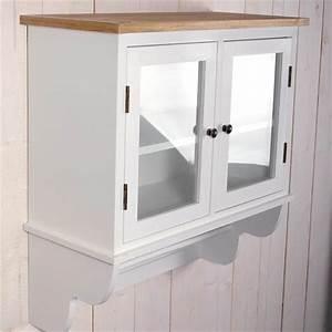 Landhaus kuchen schrank quotidaquot 74x71x31 cm weiss shabby for Küchen wandschrank