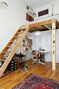 53, Awesome, Efficient, Tiny, Loft, Apartment, Decorating, Ideas