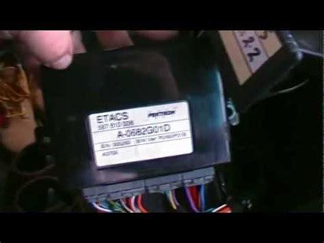 ldv maxus van etacs unit relay fix  fog lights