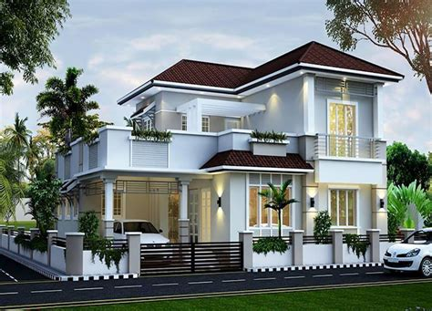 sloping roof houses home building plans