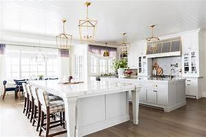 emily jackson39s perfectly calming grey white kitchen With kitchen colors with white cabinets with michael jackson wall art
