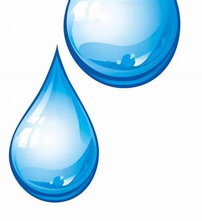 Transparent Water Drop Clipart Background Droplets Drops