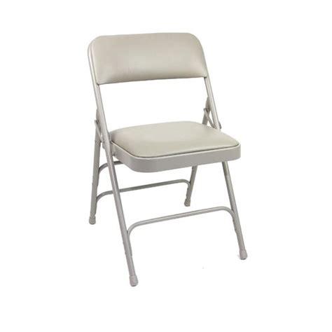 gray vinyl padded folding chair bar restaurant