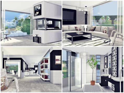Primarily designed for a single person. Moniamay72 • Sims 4 Houses - The Sims 4 - CC House ...