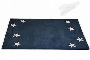 Teppich Stern Blau : kinderteppich dunkelblau haus deko ideen ~ Markanthonyermac.com Haus und Dekorationen