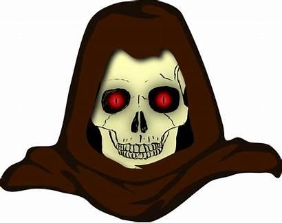 Evil Skull Vector Clipart Hooded Smile Vectors