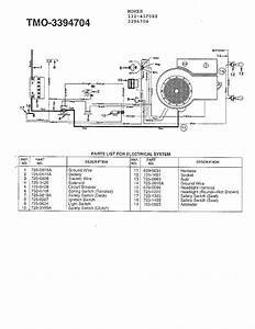 Bolens Model 13am62f065 Wiring Diagram