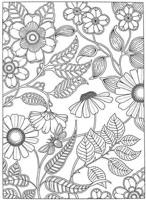 adult coloring page secret garden  images garden coloring pages flower coloring