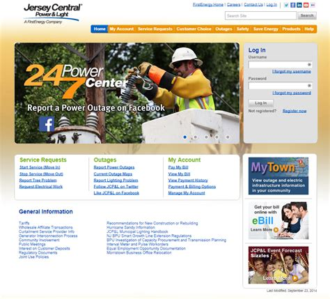 nj central power and light firstenergycorp com jersey central power light informerbox