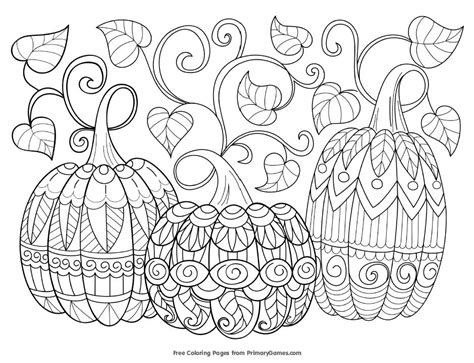 427 Free Autumn And Fall Coloring Pages You Can Print