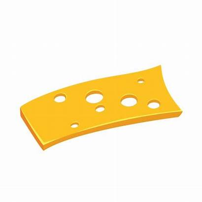 Cheese Slice Swiss Vector Clip Floating Illustrations