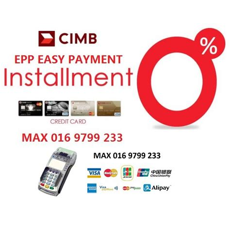 • the 6, 12 or 24 months 0% instalment plan is valid with minimum purchase of rm500 and above. CIMB BANK MERCHANT . CREDIT CARD MACHINE . EPP . 0% INSTALLMENT PLAN   Shopee Malaysia