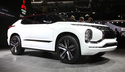 Mitsubishi Gtphev Concept At Paris Motor Show