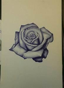 CLOVIS INK TATTOO....Realism rose sketch. Art, flower ...