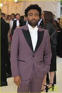 Donald Glover Rocks Purple Gucci Suit For Met Gala 2018