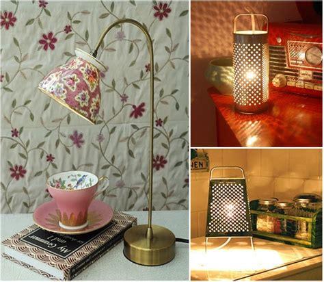 ideas originales de reciclar  decorar  lamparas