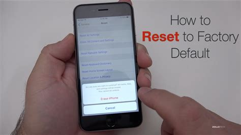 how do you restore an iphone how to reset iphone to factory default