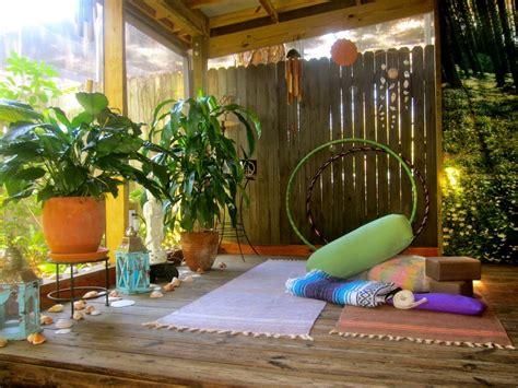 create  home yoga space  journey junkie