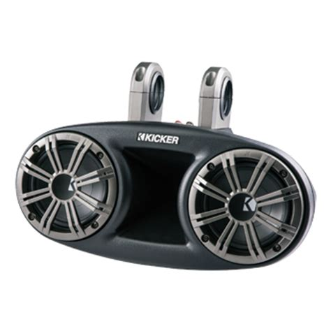 Boat Speakers Manual by Marine Speakers Subwoofers And Lifiers Kicker 174