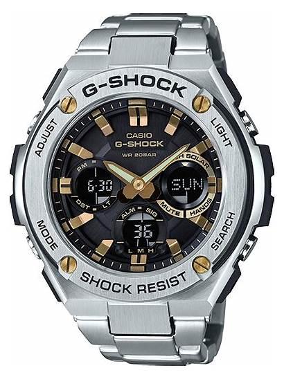 Shock Casio Steel 1a Watches 1b Gshock