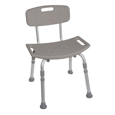 deluxe shower chair bath with back support adjustable