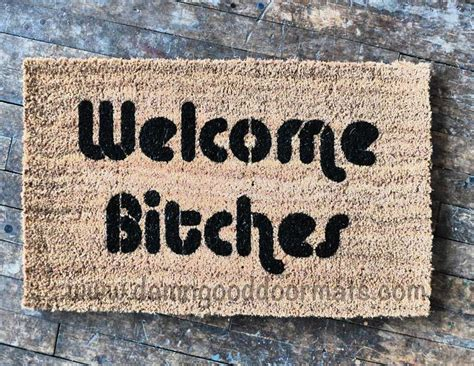 doormats and more welcome bitches in 2018 rude doormats