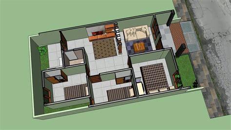 rumah minimalis meter kamar tidur youtube