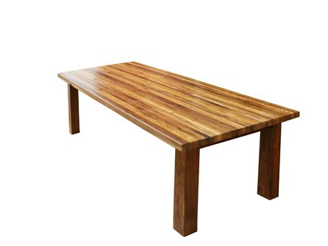Furniture Simple Idea Of Butcher Block Dining Table To
