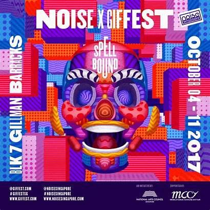 Fest Behance Flyer Animated Festival Sg Ufho