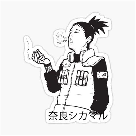 shikamaru stickers redbubble