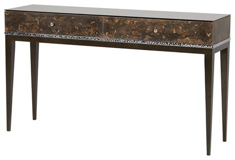 console table with bench monaco console table console tables furniture decorus