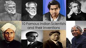 10 Famous Indian Scientists and their Inventions || TTL ...