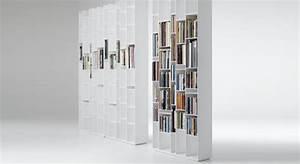 Bibliothèque Blanche Ikea : biblioth que design blanche avec rangements troits ~ Teatrodelosmanantiales.com Idées de Décoration