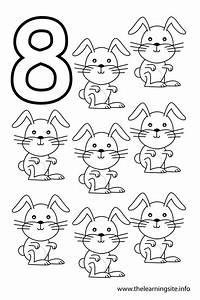 7 Best Images of Printable Number 8 Outline - Large ...