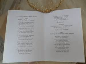 wedding reception order of service wedding order of service order of day cards order of service delivery