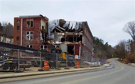 forster mill demolition opens  wilton development