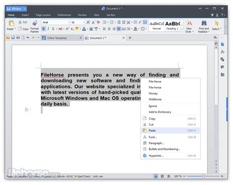 free office wps office free 2016 10 2 0 7480 for windows filehorse