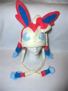 Sylveon Pokemon Fleece Hat