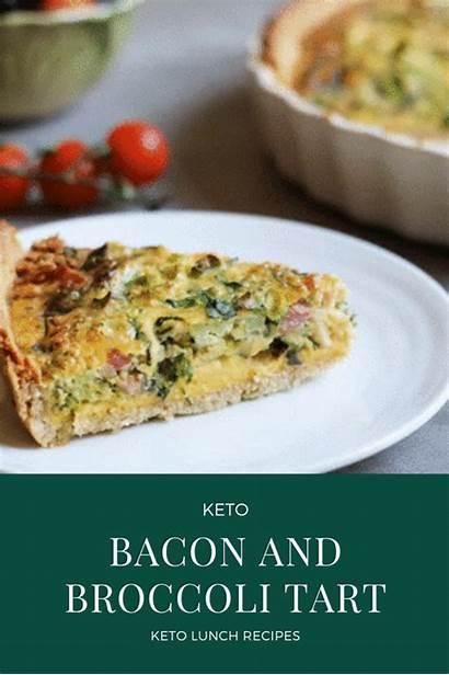 Recipes Keto Tart Broccoli Bacon Lunch